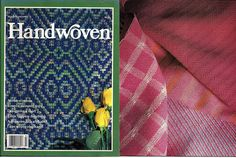 Handwoven / Weaving Magazine and Pattern Book March/April 1990 Volume XI, Number…