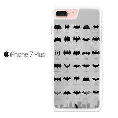 Evolution Of Batman Logo Iphone 7 Plus Case