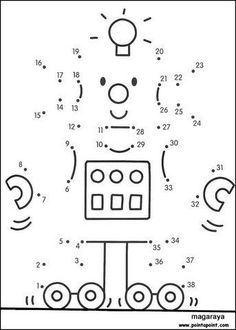 Resultado de imagen de unir con puntos robots