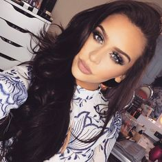 All About My Hair +Tips For Growing Long Hair How to Grow Long Hair for Men Saç Uzatma Yöntemleri She Is Gorgeous, Gorgeous Makeup, Beautiful, Beauty Makeup, Hair Makeup, Hair Beauty, Eye Makeup, The Fashion Bybel, Fashion Tips