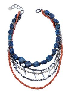 necklace - Gold and Citrus