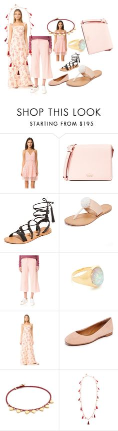 """""""best matching set"""" by denisee-denisee ❤ liked on Polyvore featuring Lovers + Friends, Kate Spade, Joie, James Jeans, Jacquie Aiche, Flynn Skye, Frye, Scosha, Rosantica and vintage"""