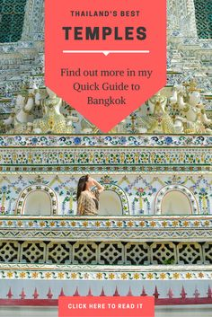 Bangkok travel planning tips! Find out everything you need to know about Bangkok in this city guide. Includes the best Bangkok hotels, restaurants, attractions and bars! Click the image to read the guide.