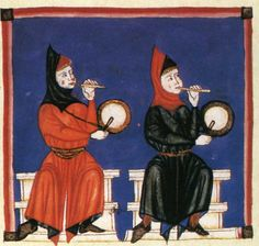Spain-Alfonso X (1221-1285) Cantigas http://www.pbm.com/~lindahl/cantigas/images/cantiga_13.jpg