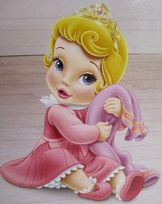 Fotos ilustram como seriam as princesas da Disney bebês                                                                                                                                                     Mais