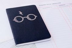 Show your Harry Potter loyalty with this blank book or give as a gift to your favorite Harry Potter fan. Illustration is laser etched onto the
