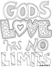 religious quotes coloring pages - lots of neat quotes to color and use as decor, or let the kids color them. Love Coloring Pages, Adult Coloring Pages, Coloring Pages For Kids, Coloring Sheets, Coloring Books, Kids Coloring, Free Coloring, Doodle Coloring, Sunday School Coloring Pages