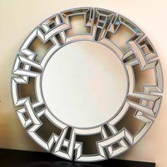 Zentro Round Wall Mirror