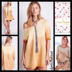 Check out FREE PEOPLE (M) Tunic Pullover Tanna Peached Out Bliss Tunic on Threadflip! Free People Tops, Bliss, Tunic, Pullover, Check, Tunics, Sweaters, Sweater
