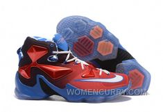 """size 40 78850 ec82f Buy Nike LeBron 13 """"USA"""" Red White-Blue Basketball Shoes Copuon Code from  Reliable Nike LeBron 13 """"USA"""" Red White-Blue Basketball Shoes Copuon Code  ..."""