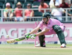 Ab Devilliers at his acrobatic best