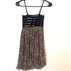 Cheetah print mini dress  Never been worn. Just make an offer  Dresses