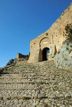 Entrance to Acrocorinth