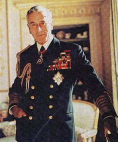 Lord Mountbatten was a member of the British Royal family, Prince Phillip's uncle and a distant cousin of Queen Elizabeth. He was murdered by the IRA.