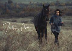 No make up // Actress Nóra Trokán by Krisztián Éder on Behance Actors & Actresses, Make Up, Horses, Film, Photography, Animals, Behance, Photos, Movie