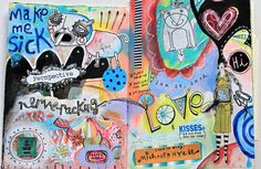 Artist Michelle Allen - Is Journaling for You? #artjournaling