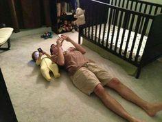 Así entrenan los padres a los hijos hoy en día.