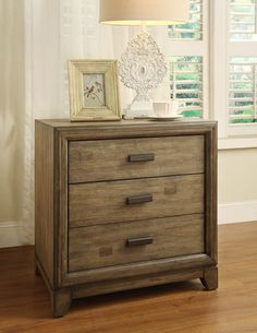 vintage nightstand grey architecture interior design pinterest