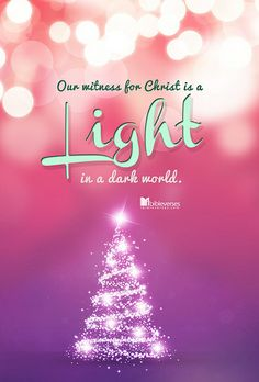 When Christians work together to display God's love, the gospel will shine more brightly and attract more people to Jesus—the Light of the w. Christmas Jesus, Christmas Love, A Christmas Story, Christmas Wishes, Christmas And New Year, Christmas Blessings, Christmas Scripture, Christmas Program, Christmas Messages