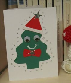 Jolie Carte De Noel Tres Simple Art Christmas Christmas Cards
