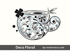 Floral Decoration Free vector