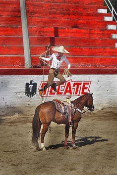 Manganas a caballo