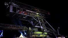 Projection Mapping MELT Festival | bright! creative event solutions