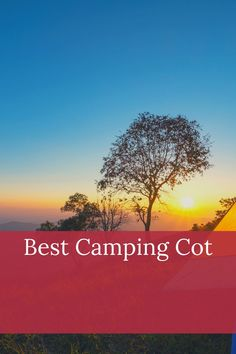 The best way to improve your camping tent sleeping is to sleep on a cot. See what our favorites are. Camping Cot, Camping Gear, Camping Hacks, Outdoor Camping, Camping Products, Camping Essentials, Ways To Travel, Camping Accessories, Budget Travel