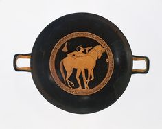 Attributed to Onesimos. Terracotta kylix (drinking cup), ca. 490 B.C. Greek. The Metropolitan Museum of Art, New York. Gift of Norbert Schimmel Trust, 1989 (1989.281.71)