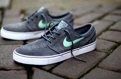 Nike SB Janoski Grey Mint #sneaker