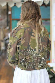 army jacket | Tumblr