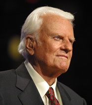 The Rev. Billy Graham at 93 years of age.