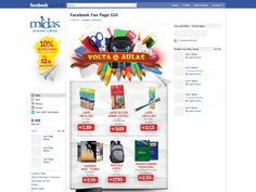Facebook - Volta às Aulas Midas