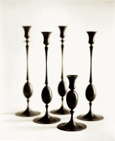 Biedermeier Candlesticks Ted Muehling Collection