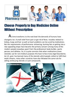 Choose Properly to Buy Medicine Online Without Prescription