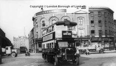 Bus, Vauxhall Cross, Vauxhall 1950