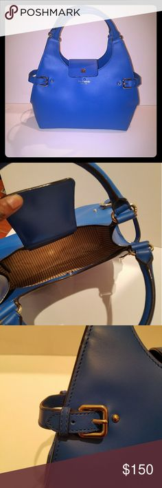 Cobalt Blue Kate Spade Handbag Color: Cobalt Blue Material: Leather  Dimensions: 14in x 5in x 8in Inner zipper compartment  Bold, yet stylish Never used. Does not come with a box. Please feel free to make me an offer! undefined Bags Totes