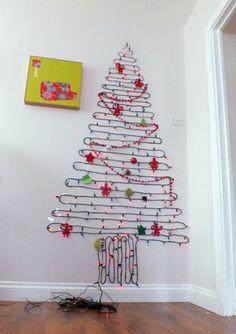 2m Wall Christmas Tree #Christmas#Tree