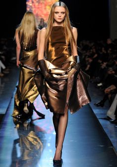 More ombre - here Jean Paul Gaultier fall 2012