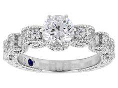 Vanna K (Tm) For Bella Luce (R) 2.18ctw Platineve (Tm) Ring