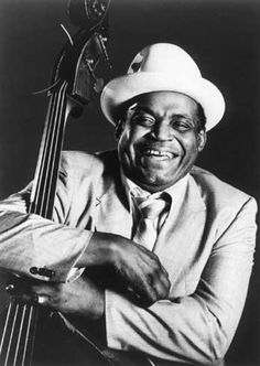 """Willie Dixon- born in Mississippi in 1915, Dixon is considered one of the key figures in the creation of Chicago blues. He worked with Chuck Berry, Muddy Waters, Howlin' Wolf, Otis Rush, Bo Diddley, Joe Louis Walker, Little Walter, Sonny Boy Williamson, Koko Taylor, Little Milton, Eddie Boyd, Jimmy Witherspoon, Lowell Fulson, Willie Mabon, Memphis Slim, Washboard Sam, Jimmy Rogers, Sam Lay and others. He was portrayed in the movie """"Cadillac Records by Cedric the Entertainer."""