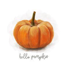 Pumpkin Drawing, Pumpkin Art, Cute Pumpkin, Pumpkin Ideas, Autumn Crafts, Autumn Art, Painting Pumkins, Pumkin Decoration, Fall Clip Art