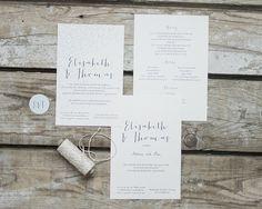 """#Hochzeitseinladungen """"whimsical dots"""" #weddinginvitation, online bestellbar bei www.papierhimmel.com"""