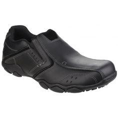 Diameter Valen Slip On Black Mens Trainers, Skechers, Nice Tops, Black Shoes, Chelsea Boots, Slip On, Shopping, Fashion, Men's Tennis Shoes