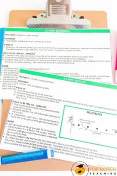 Quickly and easily plan your physical education lessons and PE activities with these NO PREP Physical Education Lesson Plans. This resource includes 35 PE lesson plans and activities that will last the entire school year. Each lesson is on a separate card which makes it easy to grab and go! Perfect for taking to the gym, the field, the court, or the classroom. Each lesson includes ideas for warm-up activities, skill practice, and games. Physical Education Lesson Plans, Pe Lesson Plans, Teaching 5th Grade, 5th Grade Classroom, Pe Activities, Writing Activities, Pe Lessons, Reward System, 5th Grades