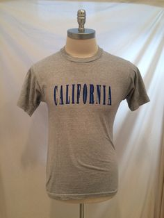 80s California vintage tshirt Fruit of the Loom by CuratedClothing