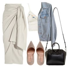 """The voice"" by forever-young89 ❤ liked on Polyvore featuring Marco Barbabella, Joseph, American Apparel and Givenchy"