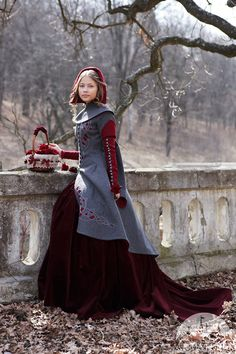 Red Riding Hood Coat Is Fairy Tale Gorgeous