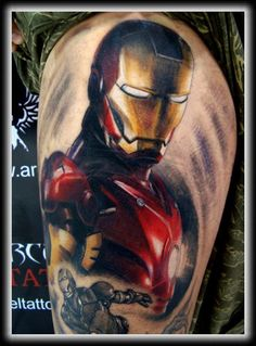 Possibly the first superhero tattoo I've ever loved.