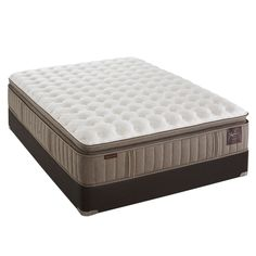 My new bed except we have the Cushion Firm. Reservoir V Plush Pillowtop Mattress by Stearns & Foster